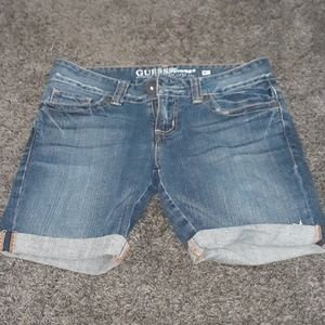Guess Jean Shorts Size 27